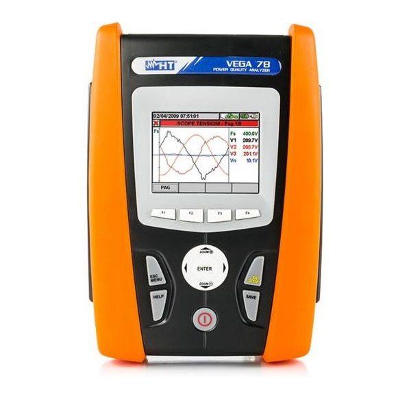 HT Italia VEGA78 Power Quality and Energy Consumption Analyzer