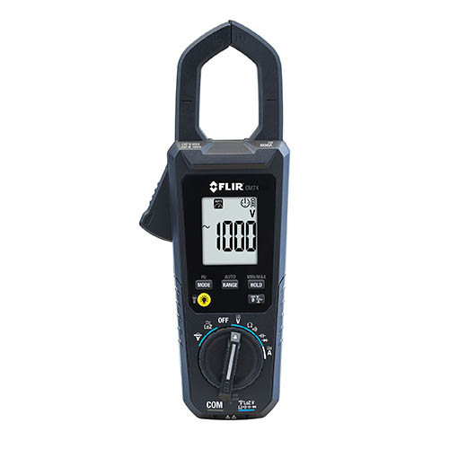 FLIR CM74 600A AC True RMS Commercial Clamp Meter