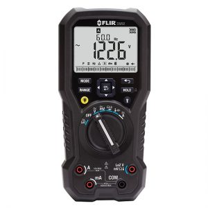 FLIR DM92 True RMS Industrial Multimeter,CAT IV-600V