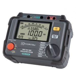 Kyoritsu 3125A 5kV High Voltage Insulation Resistance Tester