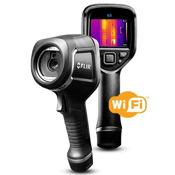 FLIR E5-XT Infrared Camera with MSX & WI-FI