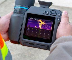 FLIR T840 High-Performance Thermal Camera