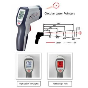 CEM DT-8876 IR Thermometer