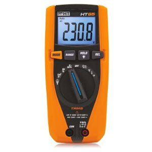 HT Italia HT65 TRMS Digital Multimeter for DC voltage up to 1500V