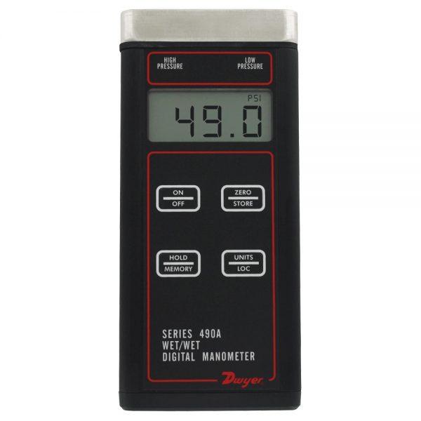 Dwyer Series 490A Pressure Manometer