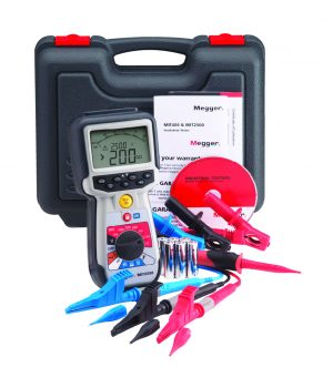 Megger MIT2500 Insulation Tester pack