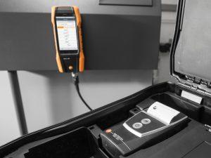 testo 300 - flue gas measurement printer