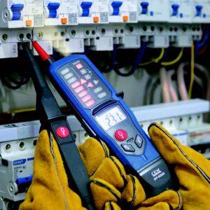 CEM-DT-9233 tester in use